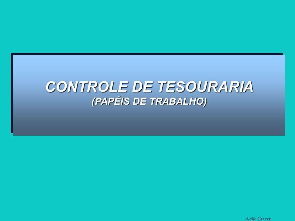 CONTROLE DE TESOURARIA