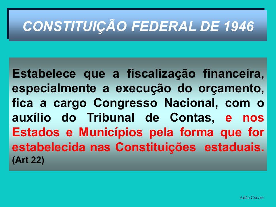 CONSTITUIÇÃO FEDERAL DE 1946