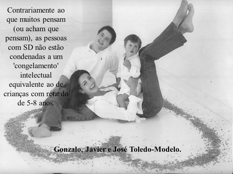 Gonzalo, Javier e José Toledo-Modelo.