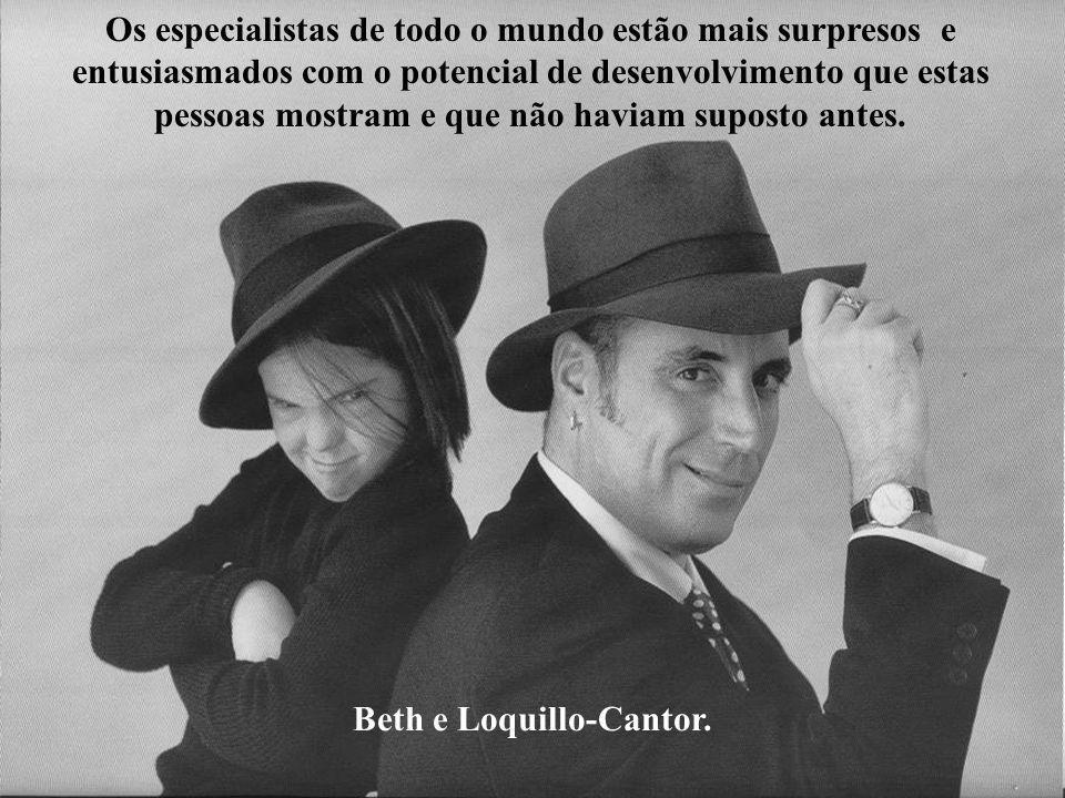 Beth e Loquillo-Cantor.