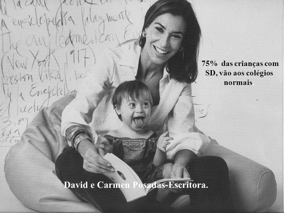 David e Carmen Posadas-Escritora.