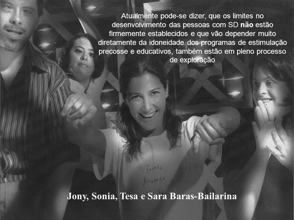 Jony, Sonia, Tesa e Sara Baras-Bailarina