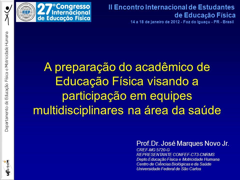 II Encontro Internacional de Estudantes de Educação Física