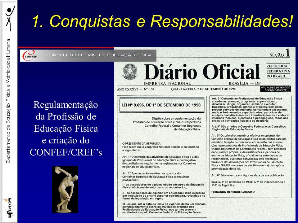 1. Conquistas e Responsabilidades!