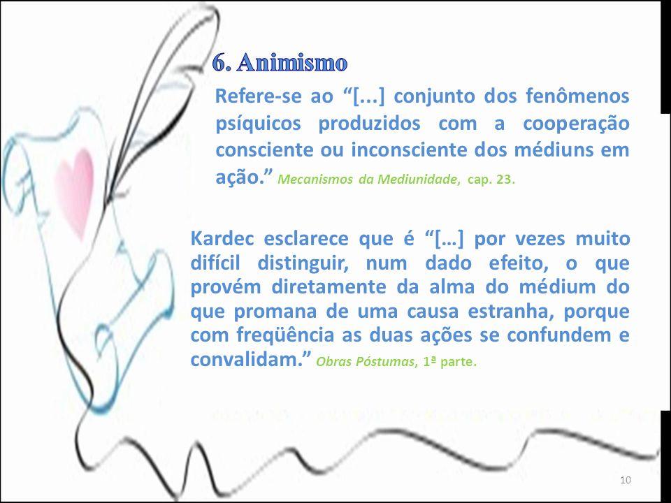 6. Animismo