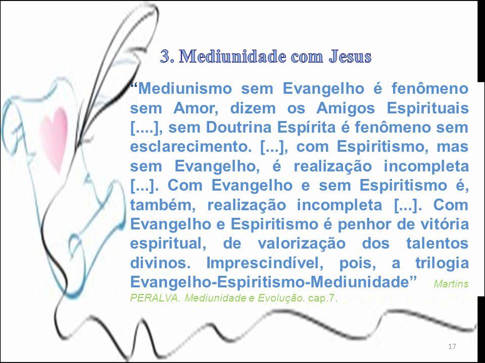 3. Mediunidade com Jesus