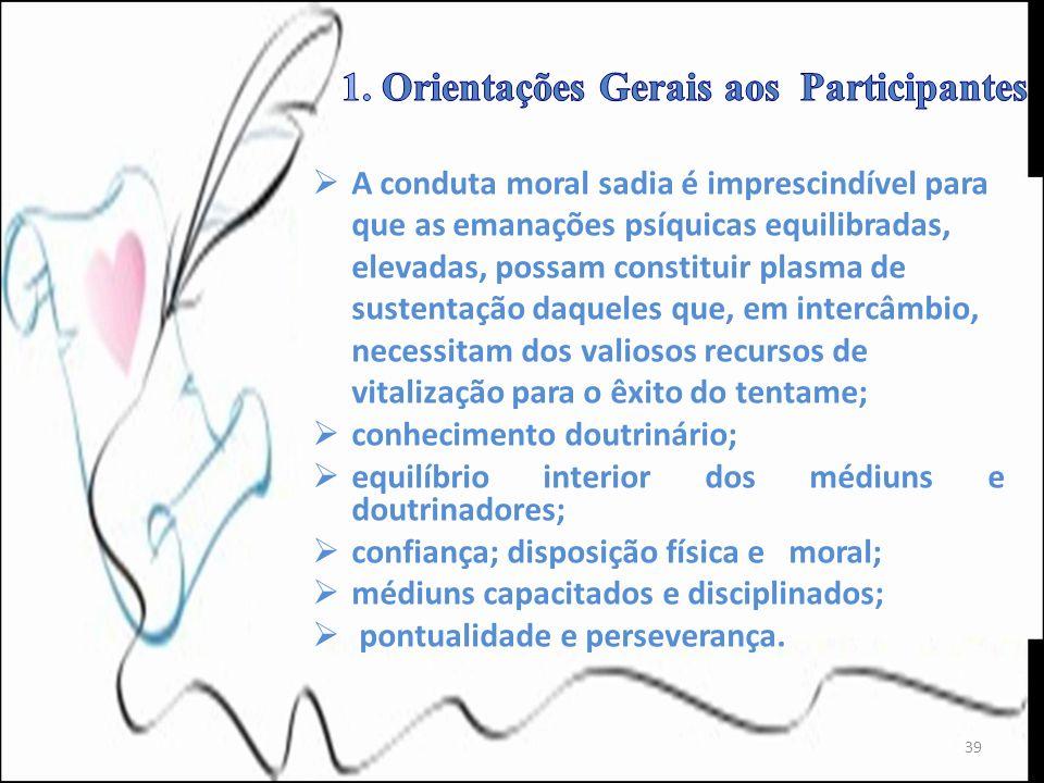 1. Orientações Gerais aos Participantes