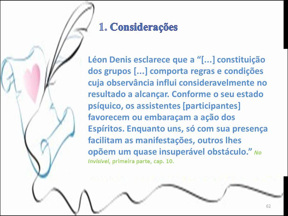 1. Considerações