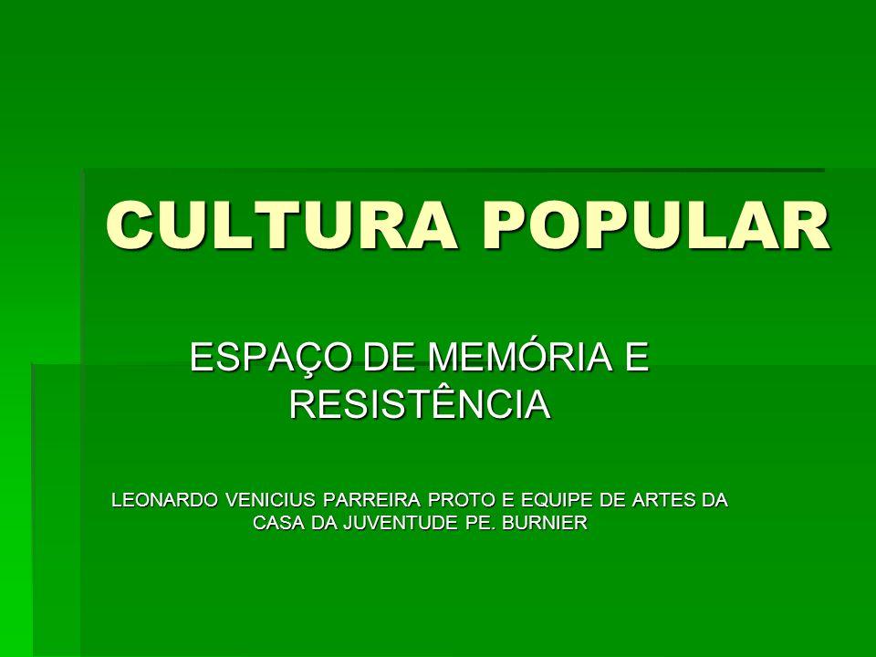 ESPAÇO DE MEMÓRIA E RESISTÊNCIA