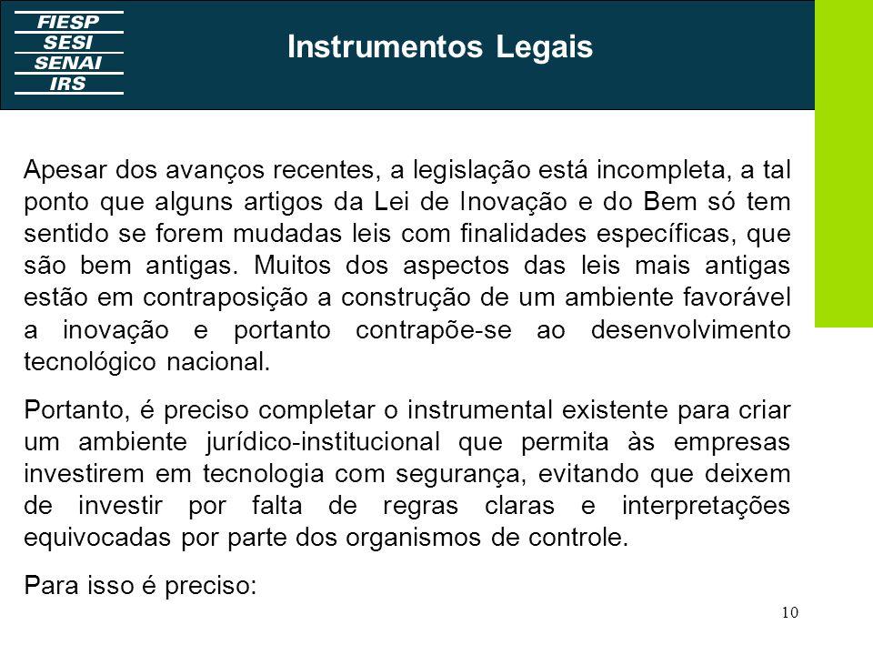 Instrumentos Legais