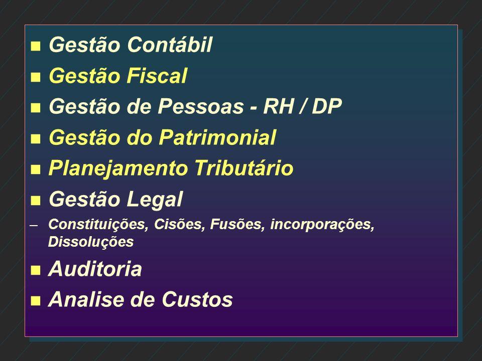 Gestão de Pessoas - RH / DP Gestão do Patrimonial
