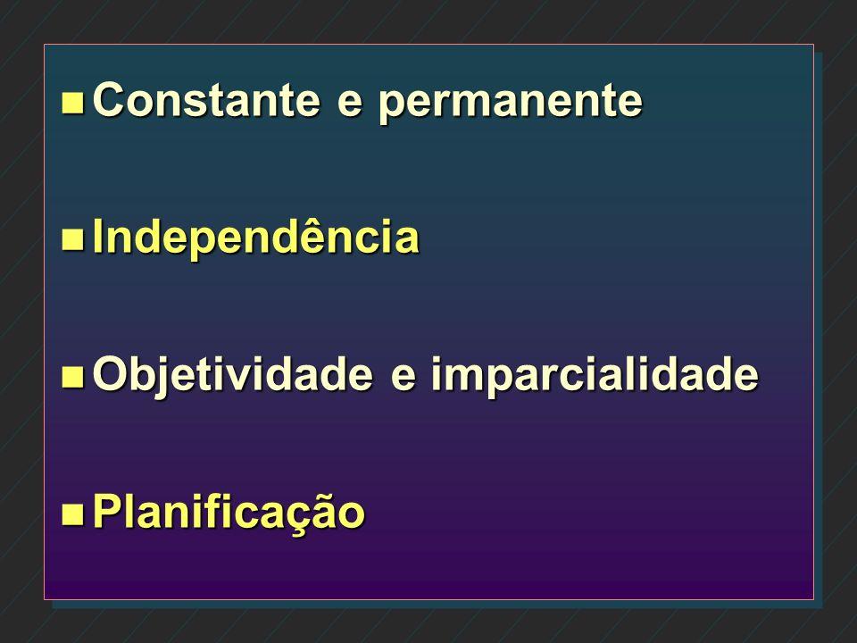 Constante e permanente