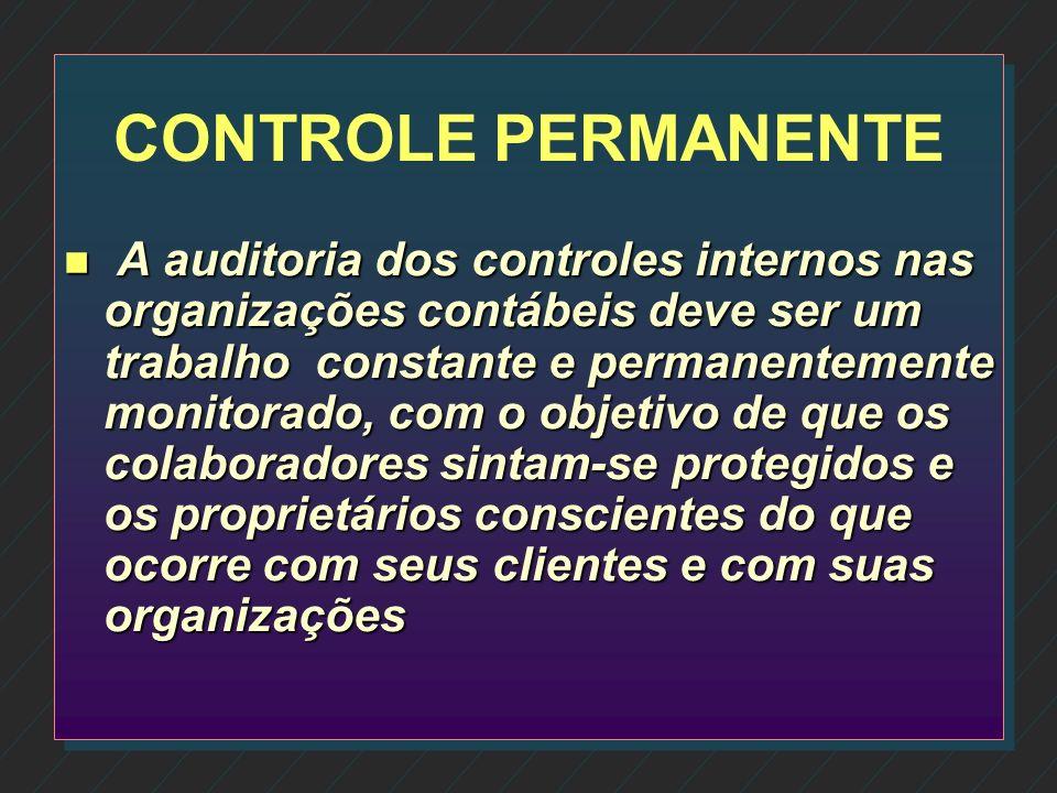 CONTROLE PERMANENTE