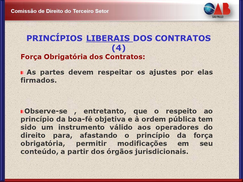 PRINCÍPIOS LIBERAIS DOS CONTRATOS (4)