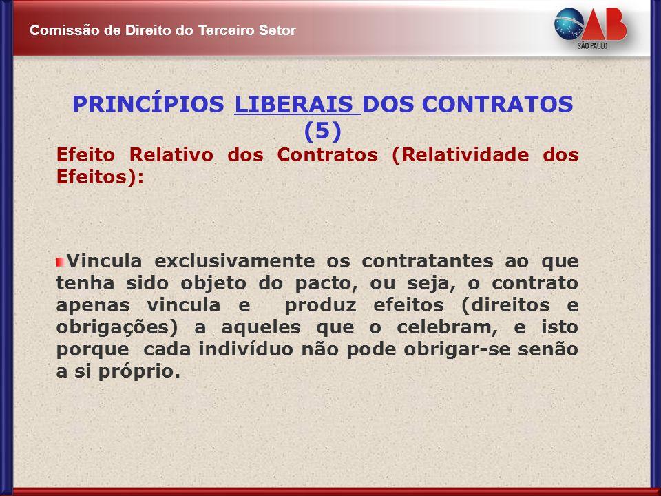 PRINCÍPIOS LIBERAIS DOS CONTRATOS (5)