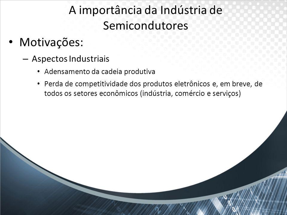 A importância da Indústria de Semicondutores
