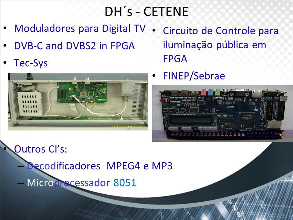 DH´s - CETENE Moduladores para Digital TV