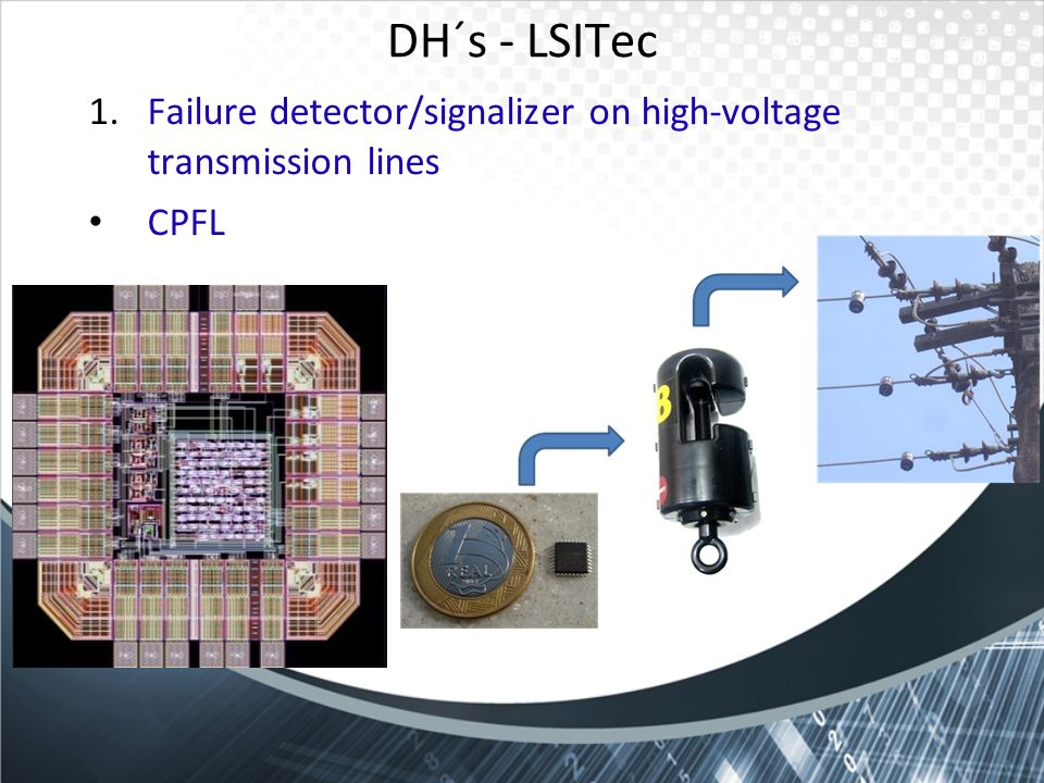 DH´s - LSITec Failure detector/signalizer on high-voltage transmission lines CPFL