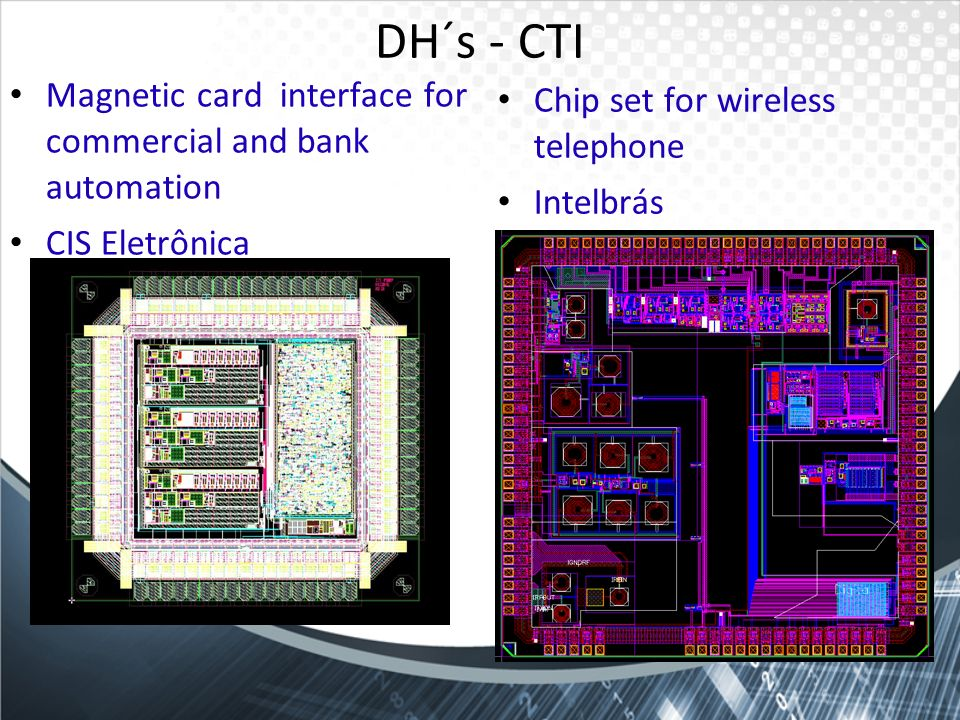 DH´s - CTI Magnetic card interface for commercial and bank automation