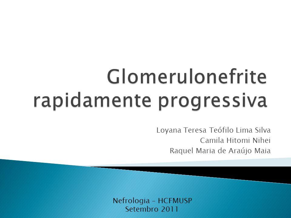 Glomerulonefrite rapidamente progressiva