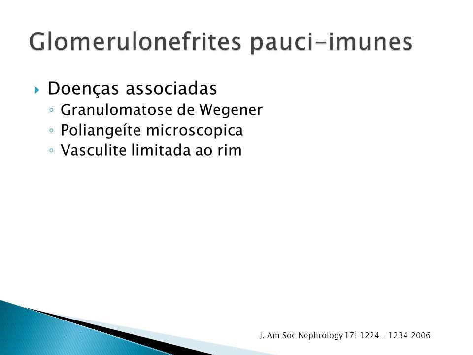Glomerulonefrites pauci-imunes