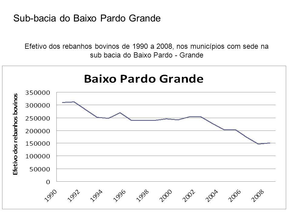 Sub-bacia do Baixo Pardo Grande
