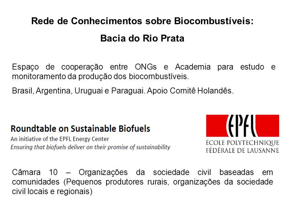 Rede de Conhecimentos sobre Biocombustíveis: