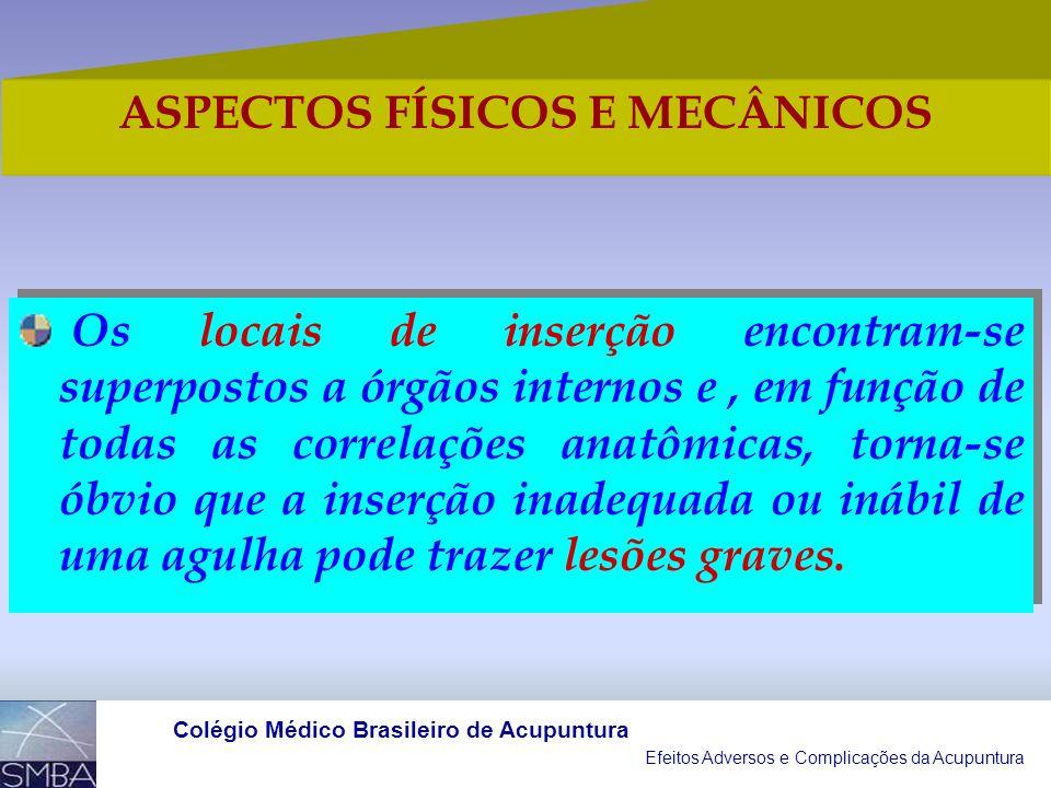 ASPECTOS FÍSICOS E MECÂNICOS