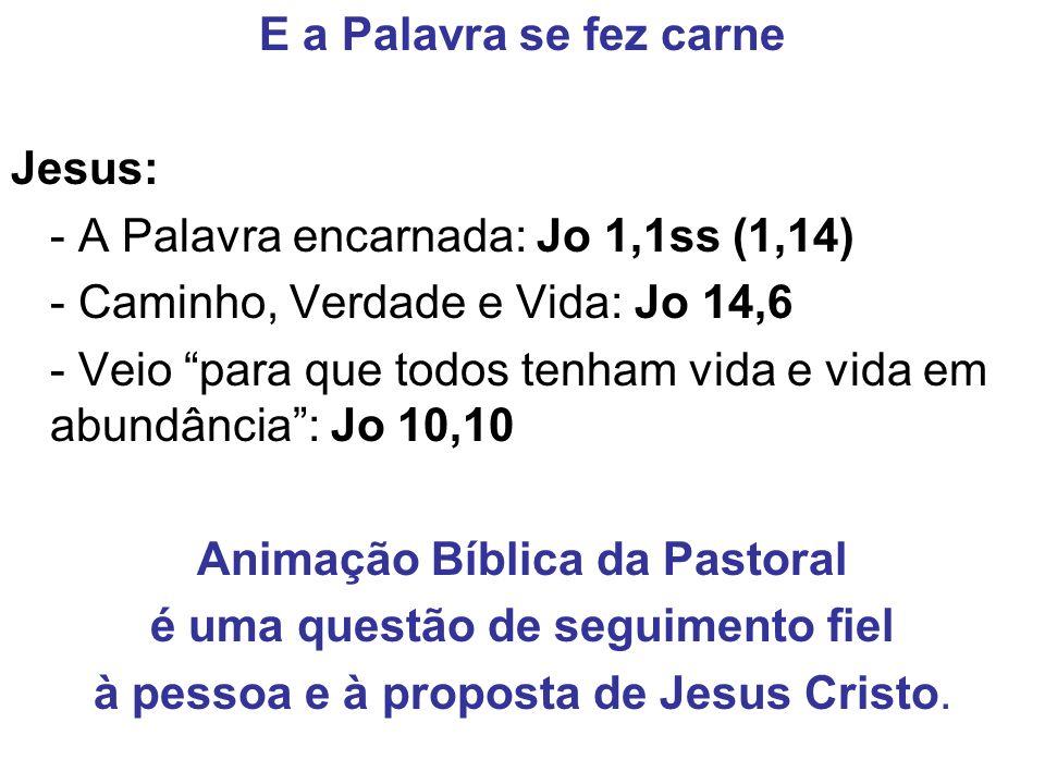 Animação Bíblica da Pastoral é uma questão de seguimento fiel