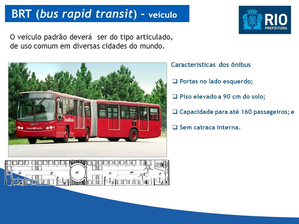 BRT (bus rapid transit) - veículo
