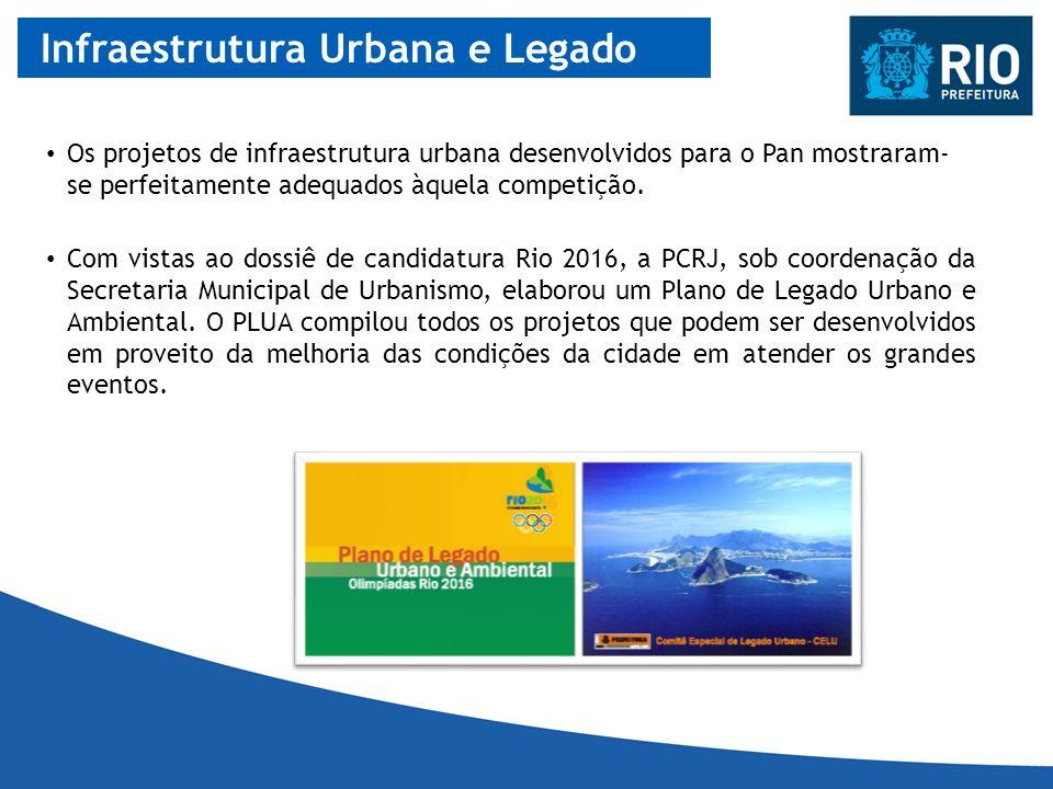 Infraestrutura Urbana e Legado