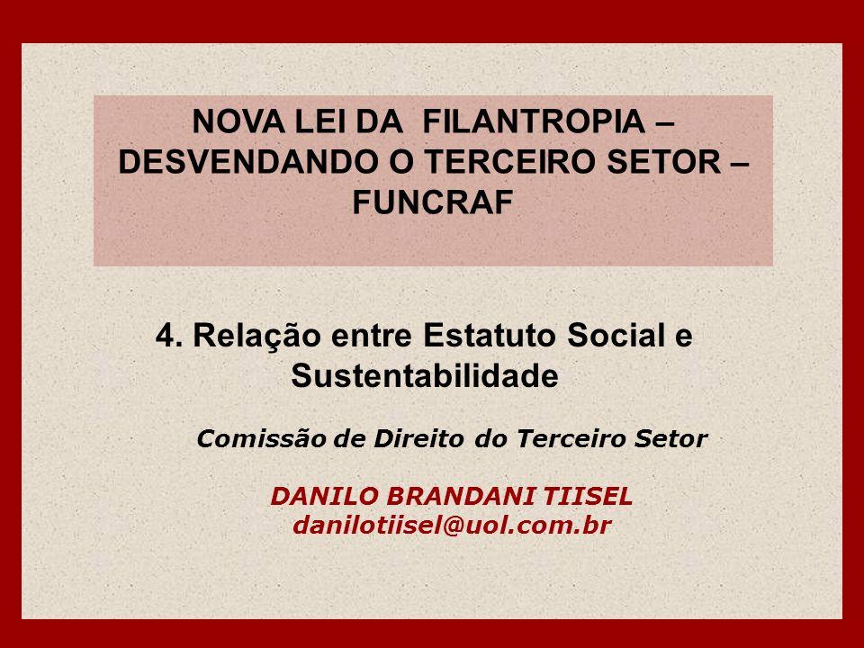 NOVA LEI DA FILANTROPIA – DESVENDANDO O TERCEIRO SETOR – FUNCRAF