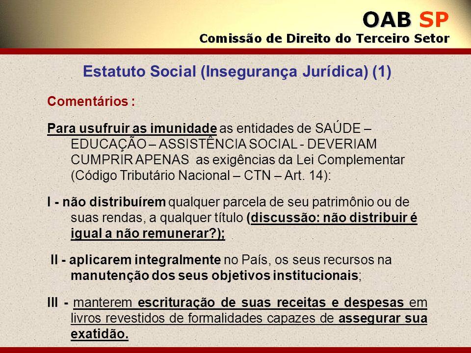 Estatuto Social (Insegurança Jurídica) (1)