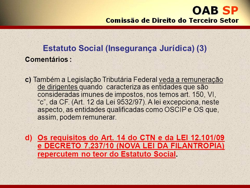 Estatuto Social (Insegurança Jurídica) (3)