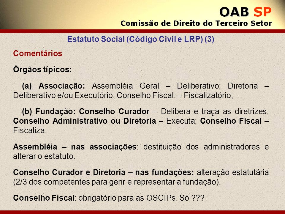Estatuto Social (Código Civil e LRP) (3)