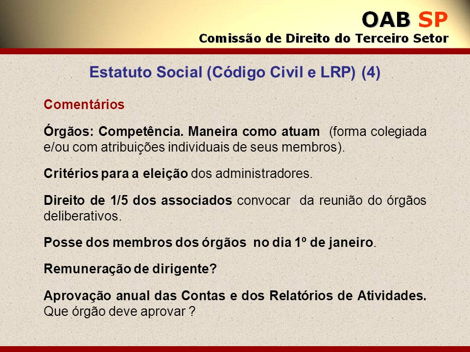 Estatuto Social (Código Civil e LRP) (4)