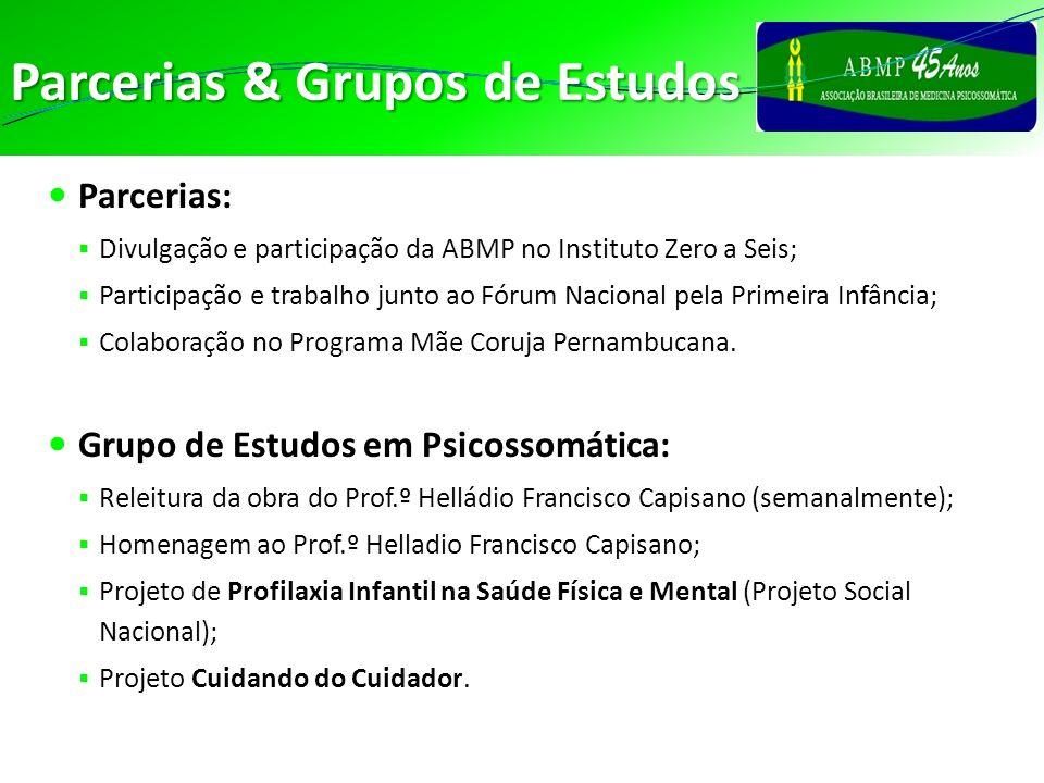 Parcerias & Grupos de Estudos