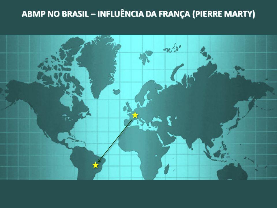 ABMP NO BRASIL – INFLUÊNCIA DA FRANÇA (PIERRE MARTY)