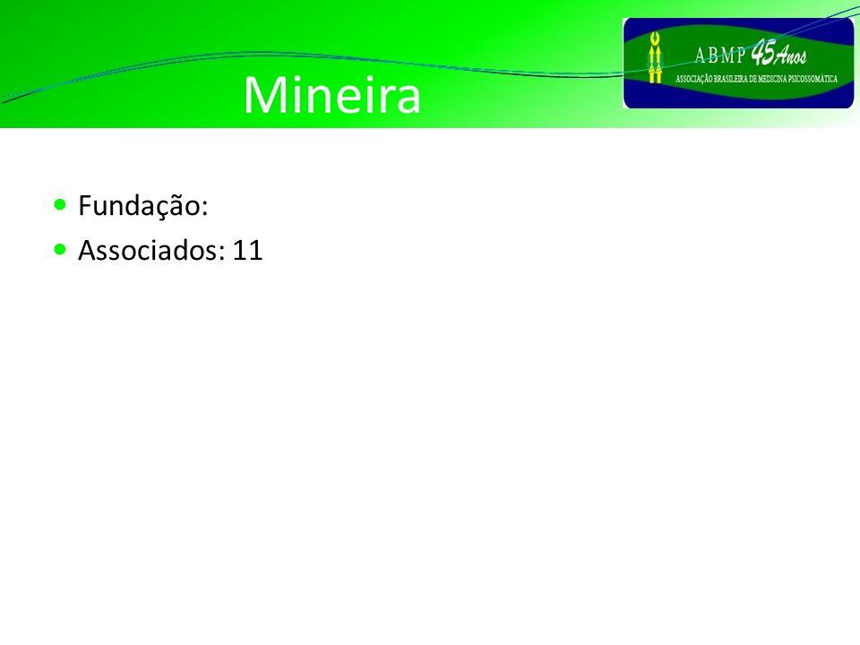 Mineira Fundação: Associados: 11