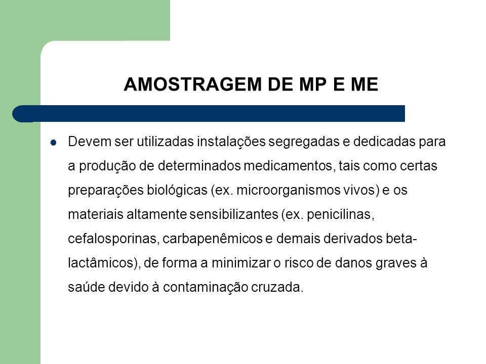 AMOSTRAGEM DE MP E ME