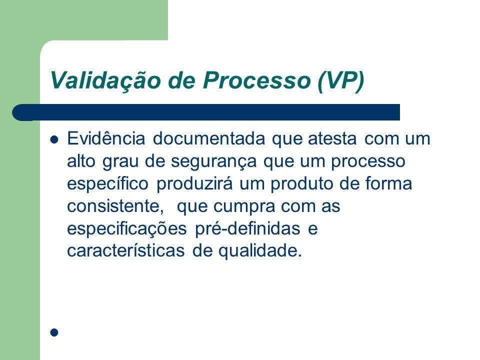 Validação de Processo (VP)