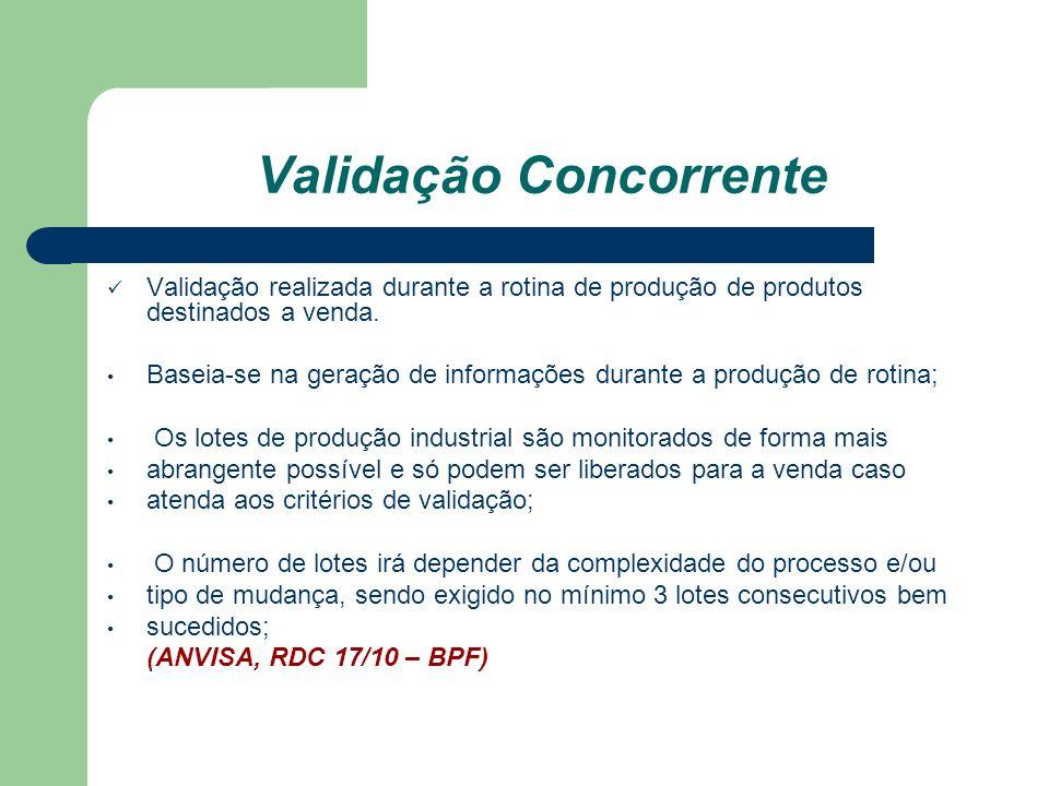 Validação Concorrente