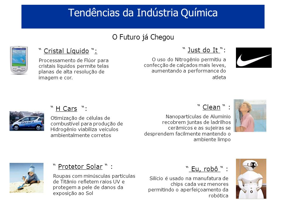 Tendências da Indústria Química