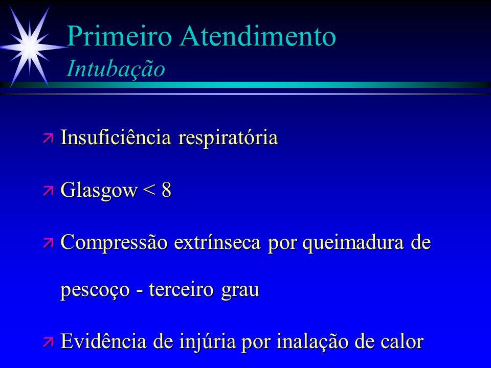 Primeiro Atendimento Intubação
