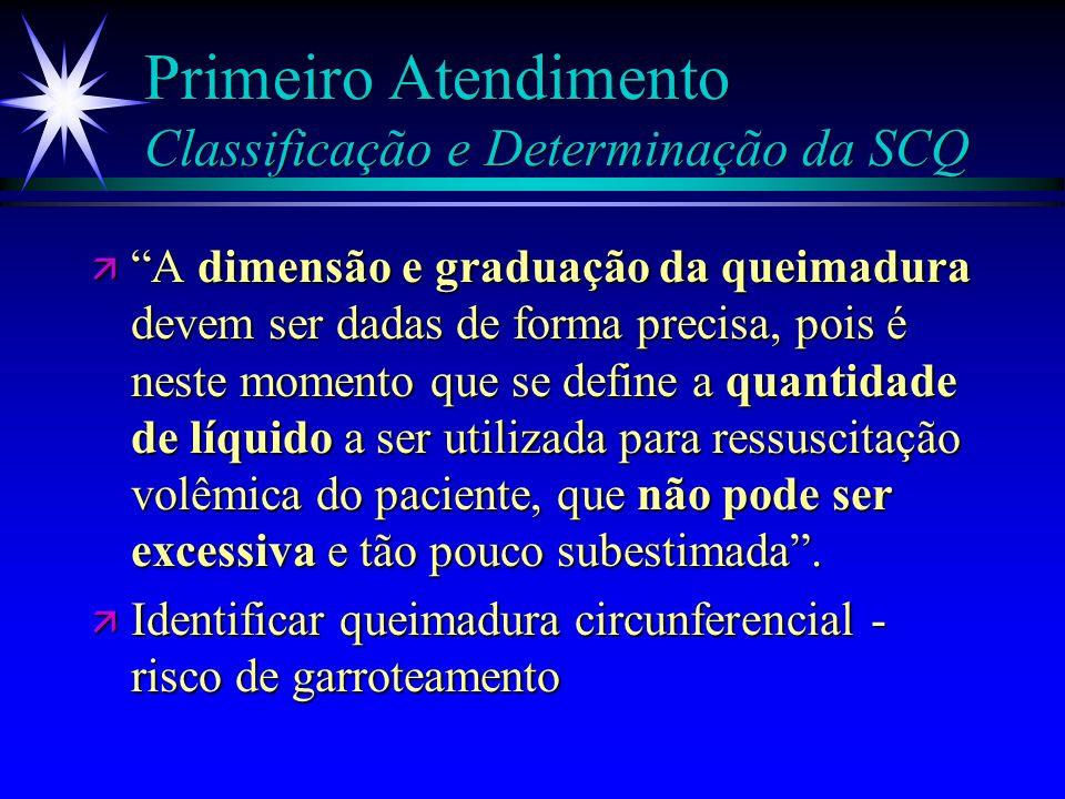 Primeiro Atendimento Classificação e Determinação da SCQ