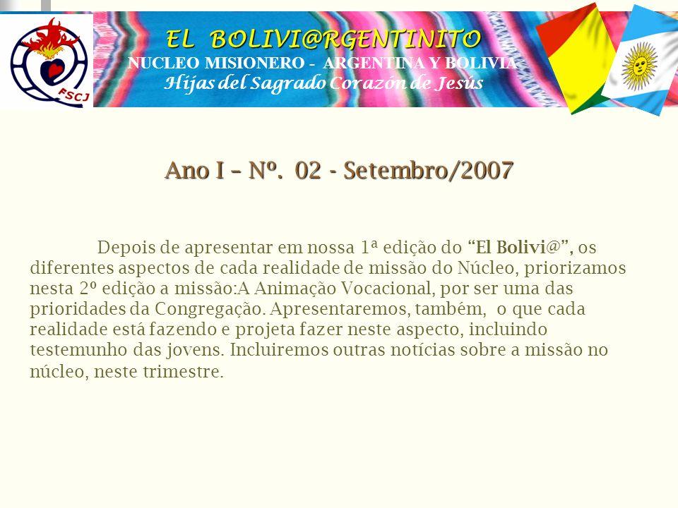 EL BOLIVI@RGENTINITO Ano I – Nº. 02 - Setembro/2007