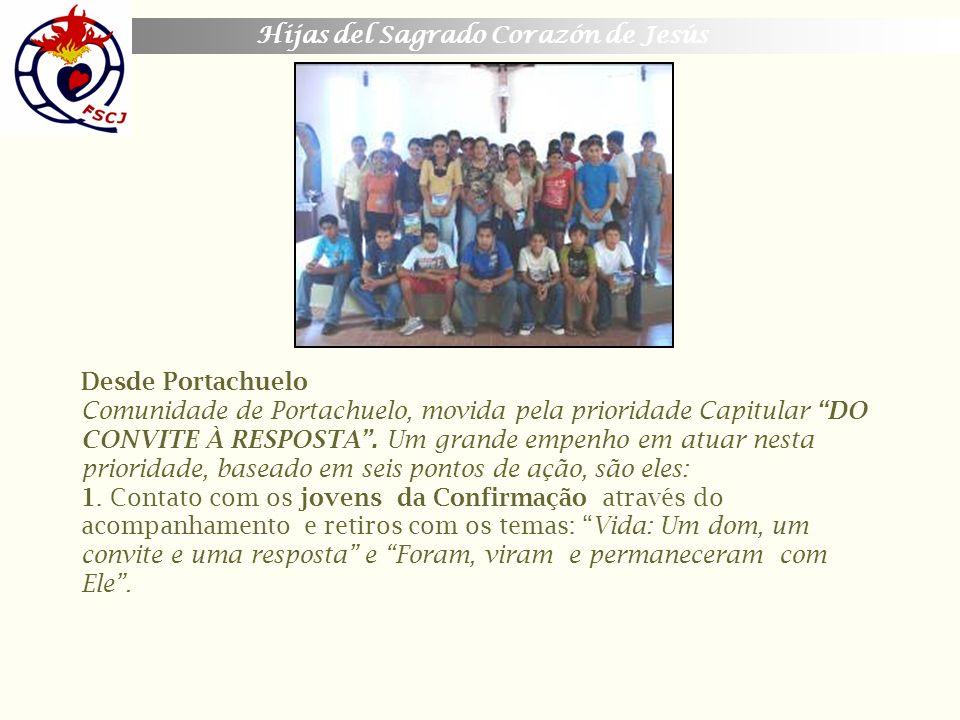 Desde Portachuelo Comunidade de Portachuelo, movida pela prioridade Capitular DO CONVITE À RESPOSTA .