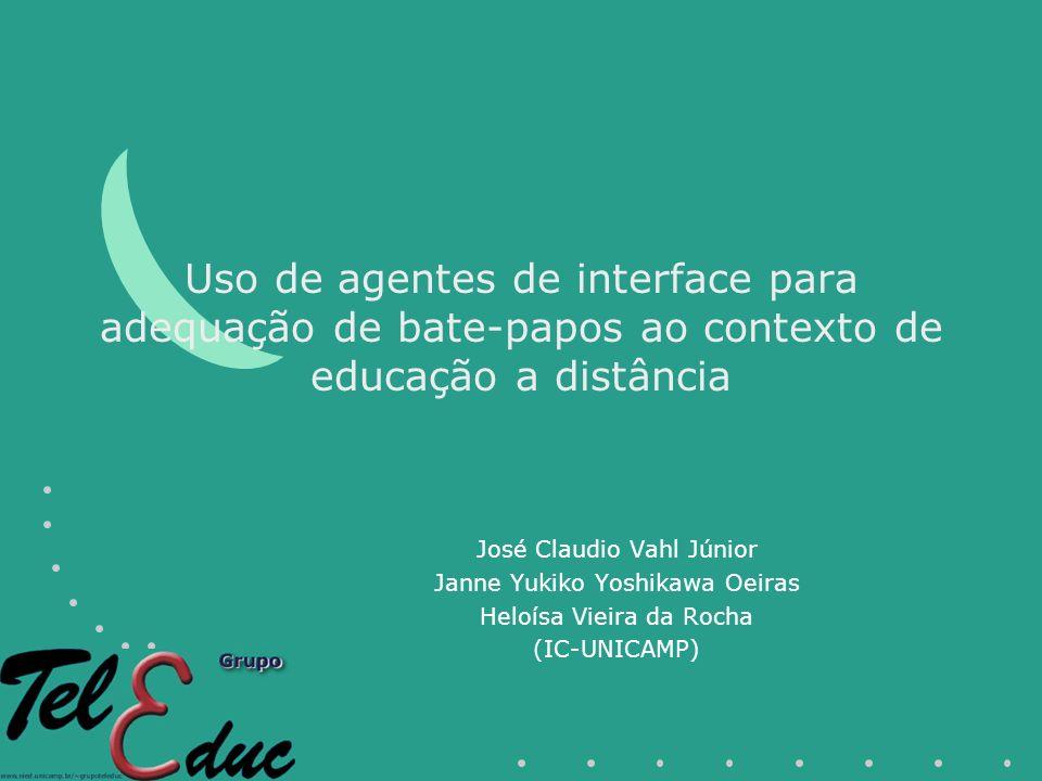 Uso de agentes de interface para adequação de bate-papos ao contexto de educação a distância