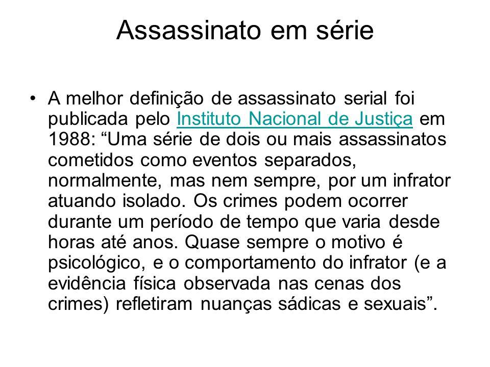 Assassinato em série