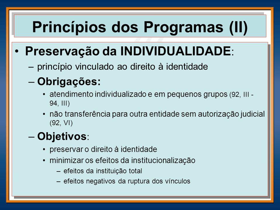 Princípios dos Programas (II)